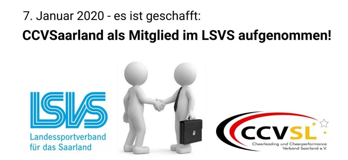 Aufnahme in den Landessportverband Saarland