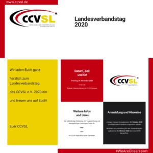 Landesverbandtag 2020